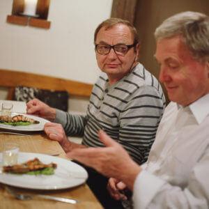 Filip Sajler vařil v Soběsukách...smekáme...