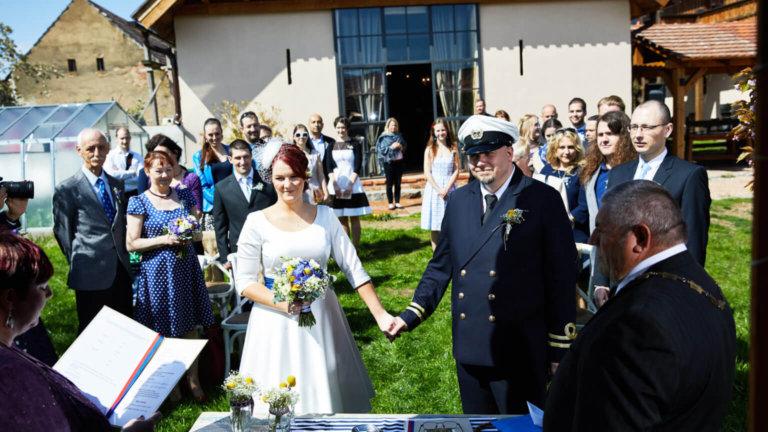 Další krásná svatba u nás