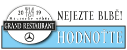 Hlasování Grand Restaurant 2019