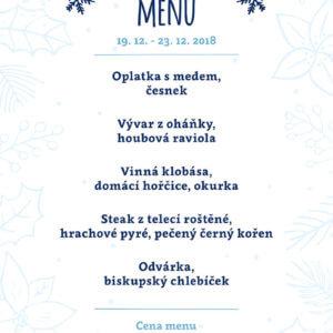 Adventní menu