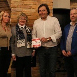 Předání ocenění Slow Food Prague