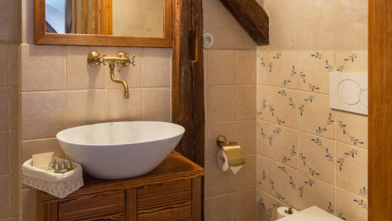Koupelna - Pension - Angusfarm Soběsuky