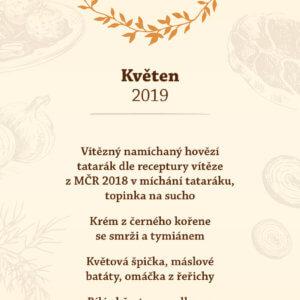 Květnové menu