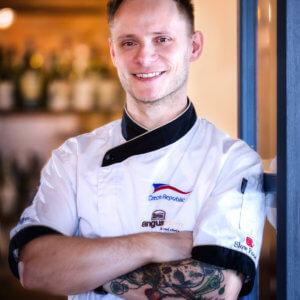 Jaroslav Viktora - šéfkuchař Angusfarm Soběsuky