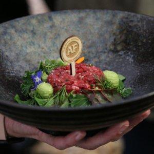 Tatarský biftek - mistrovství ČR v míchání tataráku