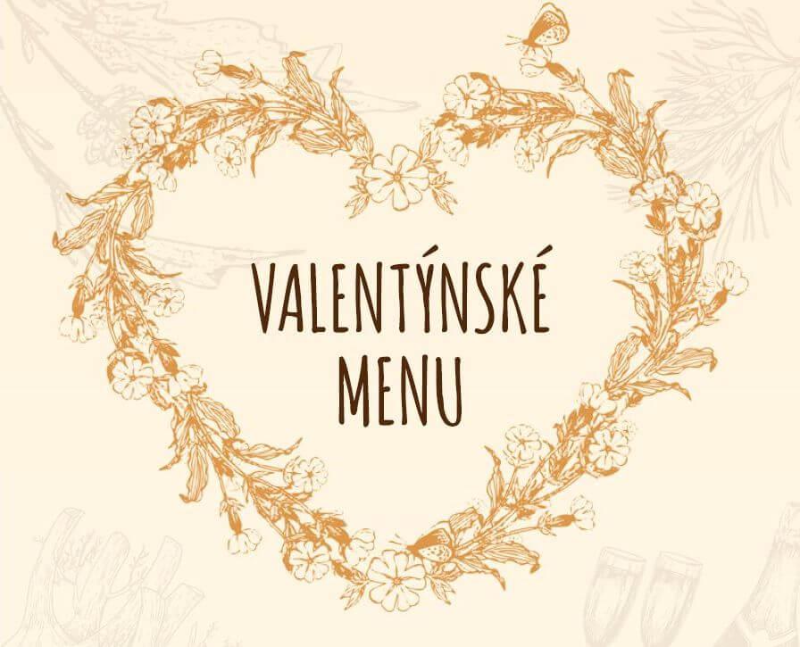 Valentýnské menu - 14.2.2020